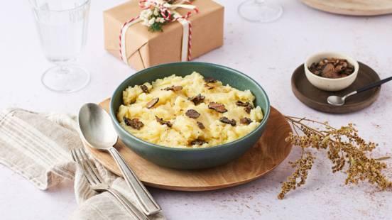 Ecrasé de pommes de terre aux truffes
