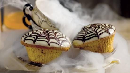 Cupcakes d'Halloween aux noisettes