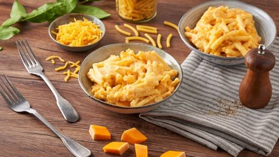 Mac'n'cheese au butternut