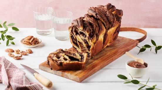 Babka chocolat et noix de pécan