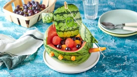 Bateau pirate melon pastèque
