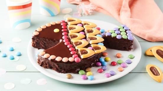 Gâteau poisson chocolat et noisette