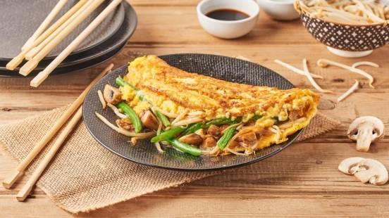 Omelette vietnamienne Foo Yung