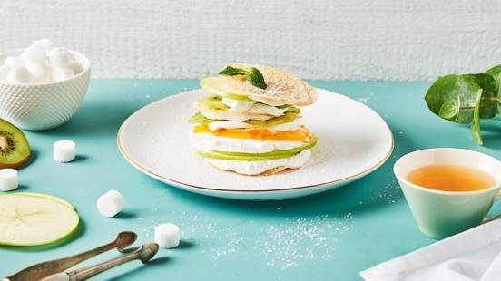 Millefeuille de fruits