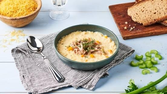 Soupe grecque Avgolemono
