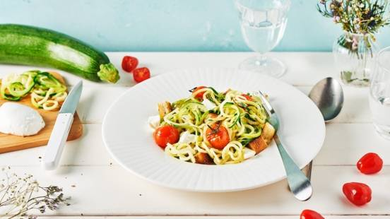 Spaghetti de légumes à l'italienne