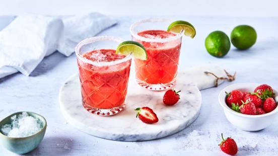 Margarita fraise et citron vert