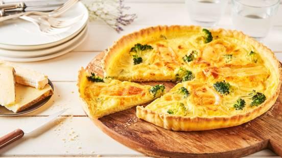 Quiche aux brocolis et aux 2 fromages