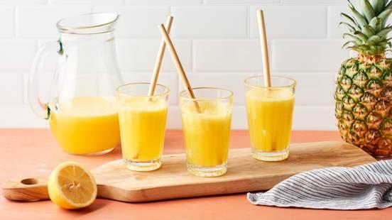 Limonade à l'ananas