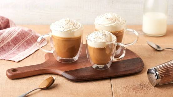 Panna cotta cappuccino
