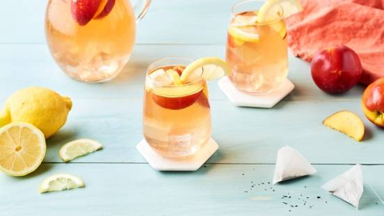 Sangria ice tea au citron