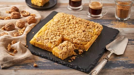 Gâteau au potimarron et noix