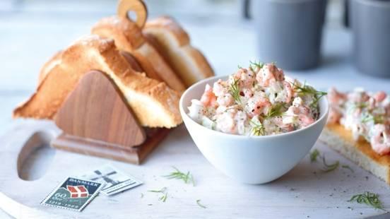 Salade de crabe à la pomme et aneth