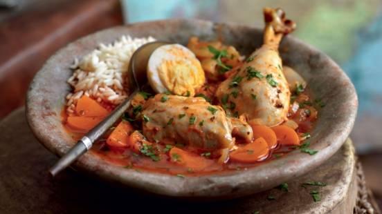 Doro wot (plat éthiopien au poulet)