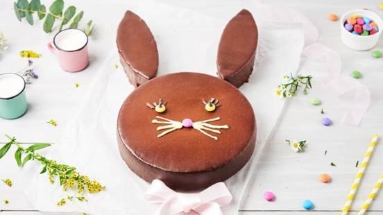 Gâteau lapin au chocolat
