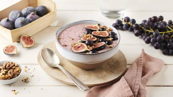 Smoothie bowl d'automne