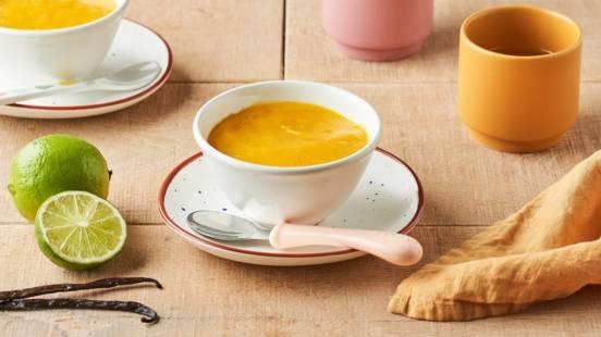 Purée de mangue à la vanille