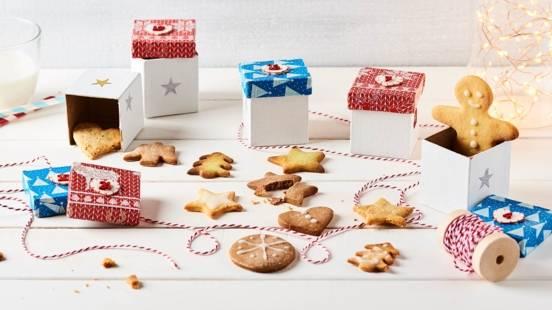 Biscuits de Noël pour un calendrier de l'Avent Home Made
