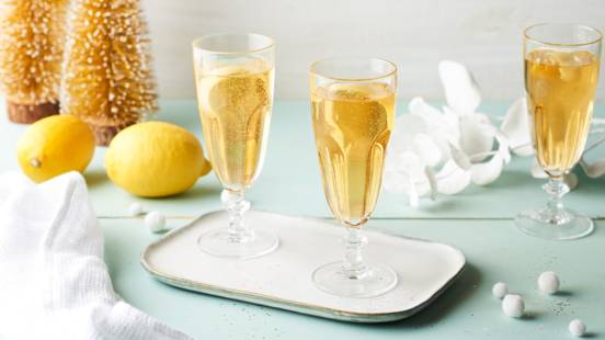 Soupe champenoise au citron