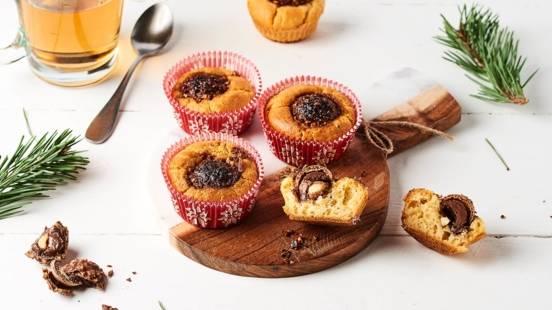 Muffins aux rochers chocolat