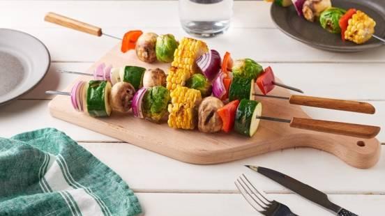 Brochette de légumes grillés