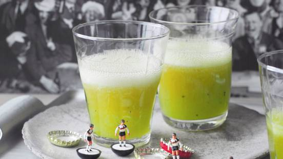 Cocktail vert pelouse