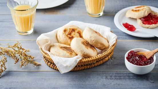 Muffins anglais maison à la farine complète
