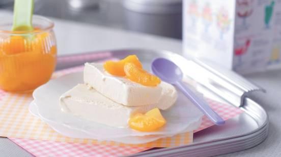 Parfait vanille-abricots