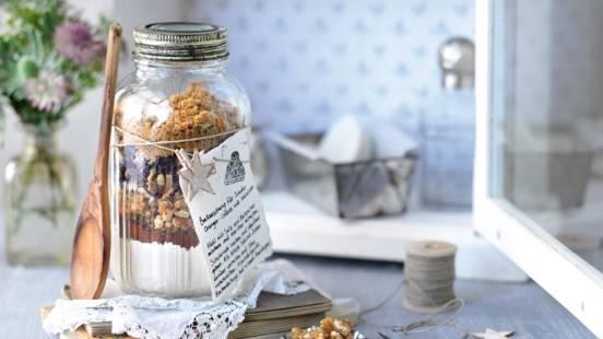 Mélange pour cookies au chocolat et noix