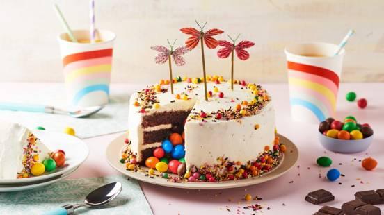 Pinata cake aux M&M's®