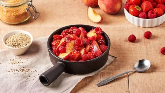 Poêlée de fruits au sésame