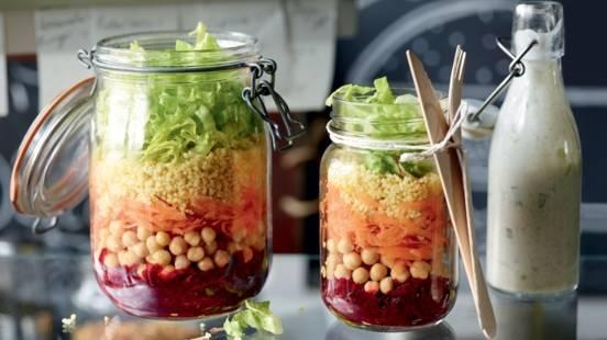 Salade mixte à emporter