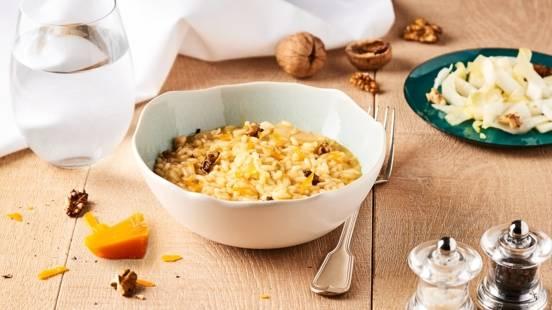 Risotto du Nord aux endives et mimolette
