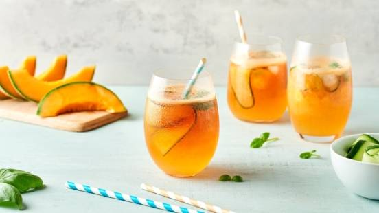 Spritz melon et basilic