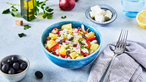 Salade de pomme de terre grecque