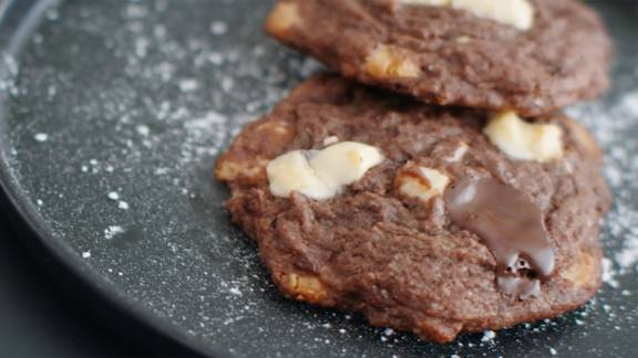 Cookies aux trois chocolat