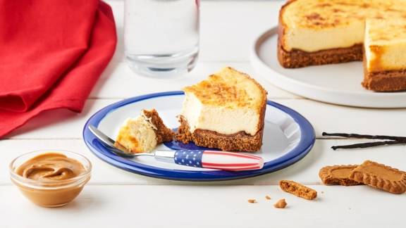 Cheesecake aux Speculoos