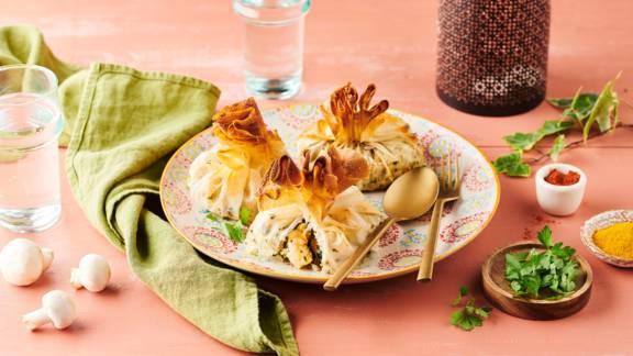 Pastillas au poisson et fruits de mer