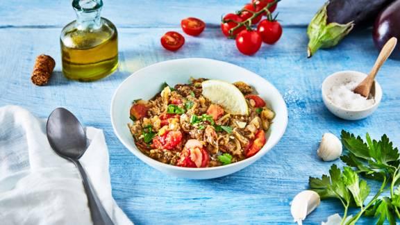 Salade d'aubergine grecque - Melitzanosalata