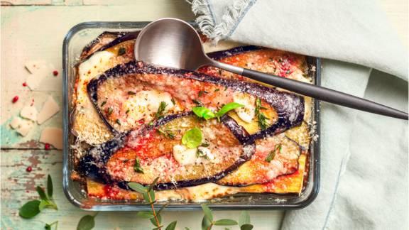 Gratin d'aubergines à la parmigiana