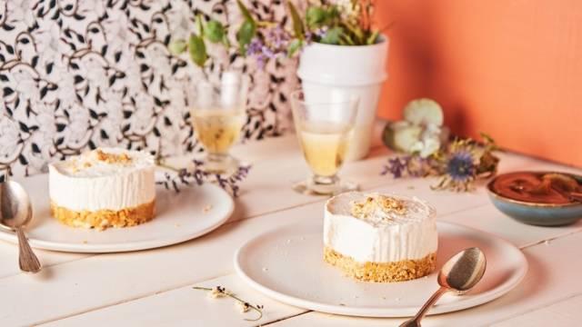 Mini cheesecakes à la crème de marrons