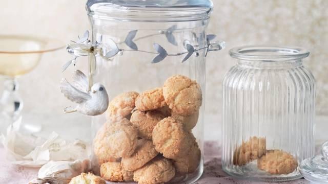 Biscuits croquants à l'amande
