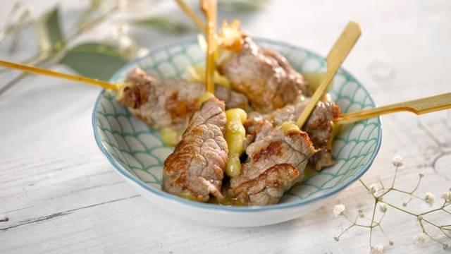 Yakitori bœuf fromage