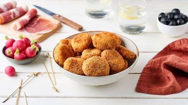 Croquettes de jambon cru