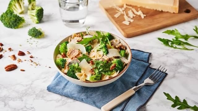 Salade de pâtes au brocolis