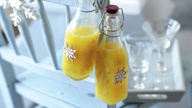 Boisson à la mangue et au citron vert