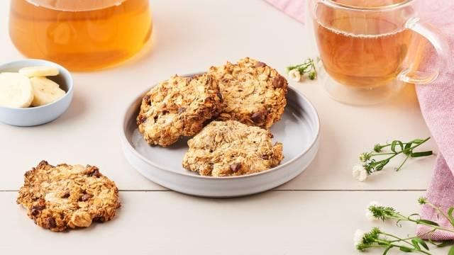 Cookies sans sucre à la coco