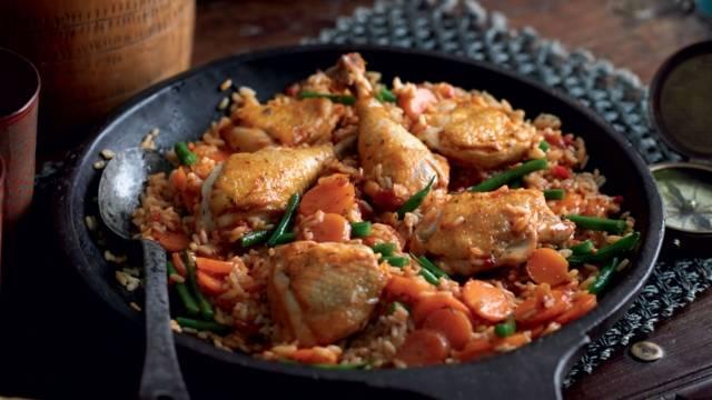 Jollof (riz au poulet à la sénégalaise)