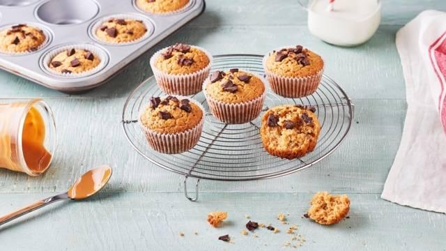 Muffins au beurre de cacahuètes