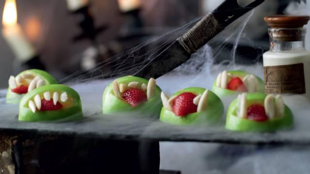 Grimace de Leprechaun (bouchées aux fruits et à la crème)